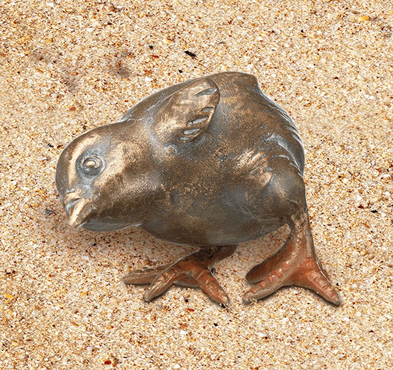 Bronzefigur Otto, der Hungrige von Atelier Strassacker