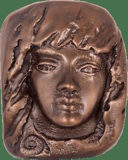 Bronzefigur Frohsinn von Maria-Luise Bodirsky