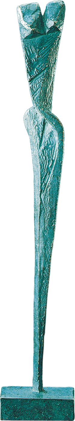 Bronzefigur Feminin E von Volker Scheurer