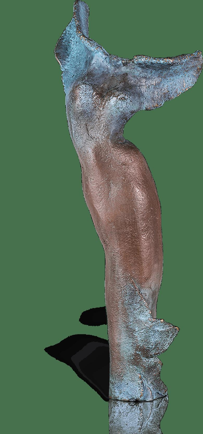 Bronzefigur Nike von Maria-Luise Bodirsky
