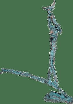 Bronzefigur Traumfänger von Franklin Pühn