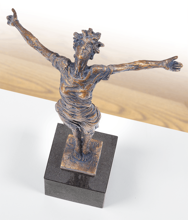 Bronzefigur Freie Balance von Safronov