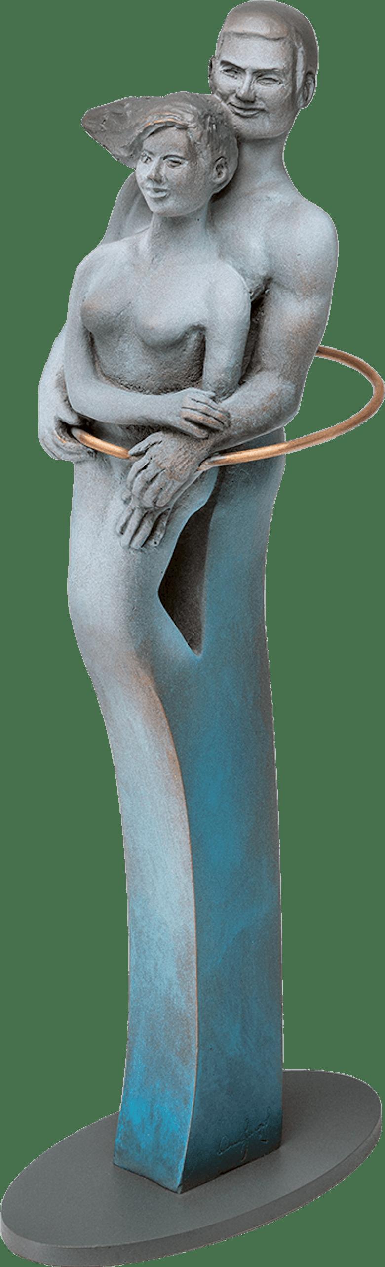 Bronzefigur »Union« von Annie Jungers