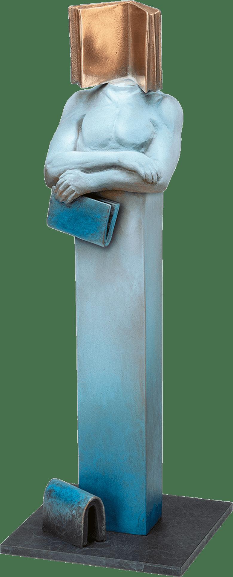 Bronzefigur »Vademecum« von Annie Jungers