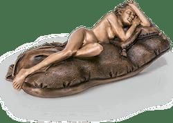Bronzefigur Sleeping Beauty von Thomas Schöne