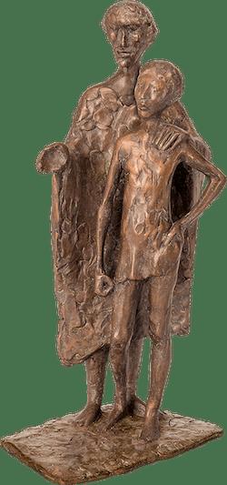 Bronzefigur Den eigenen Weg… von Manfred Welzel