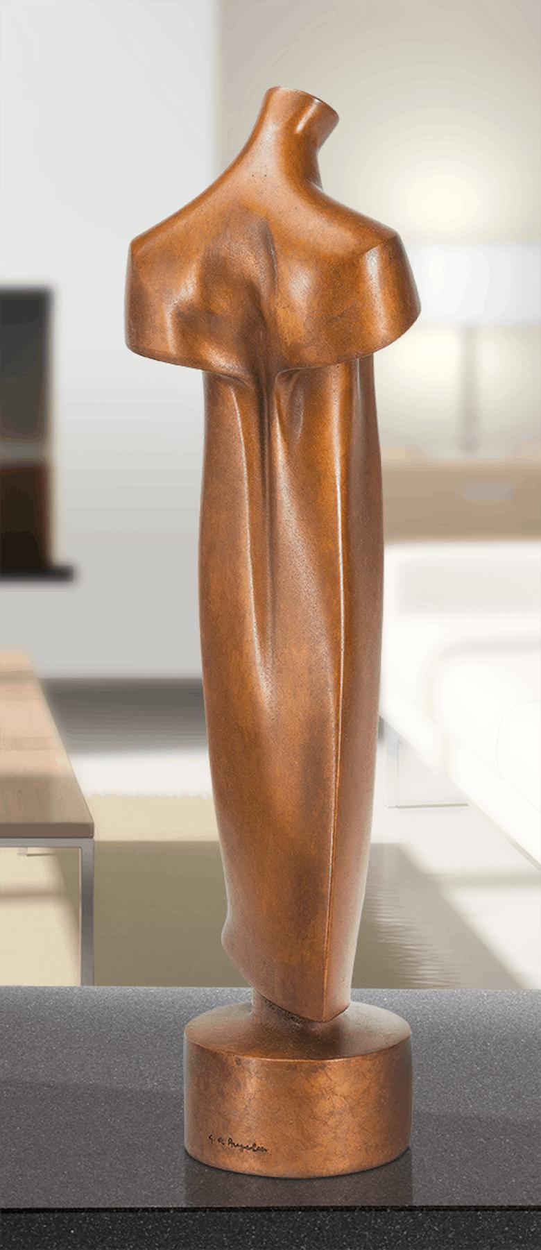 Bronzefigur Torso von Giovannni de Angelis