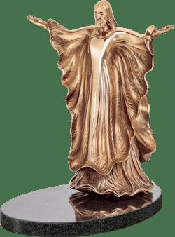 Bronzefigur Christkönig von Ernst Fuchs