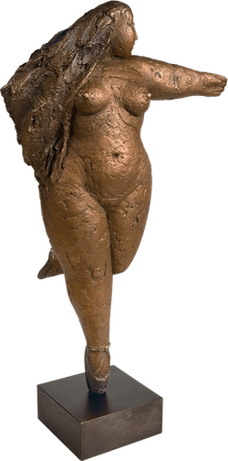 Bronzefigur Ballerina von Hilla Wolf-Wagner