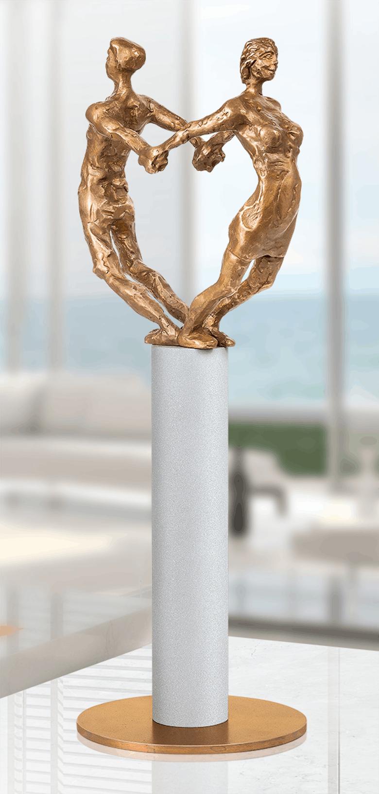 Bronzefigur Paar von Uwe Bürkle