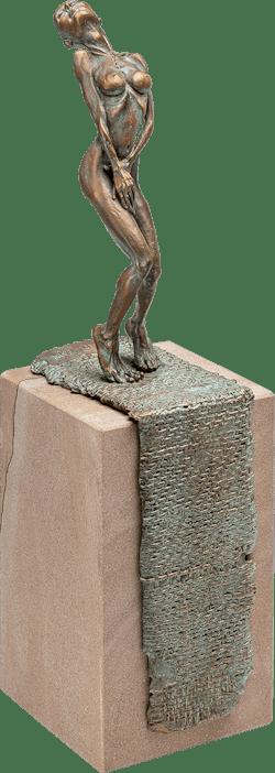 Bronzefigur Batseba von Woytek