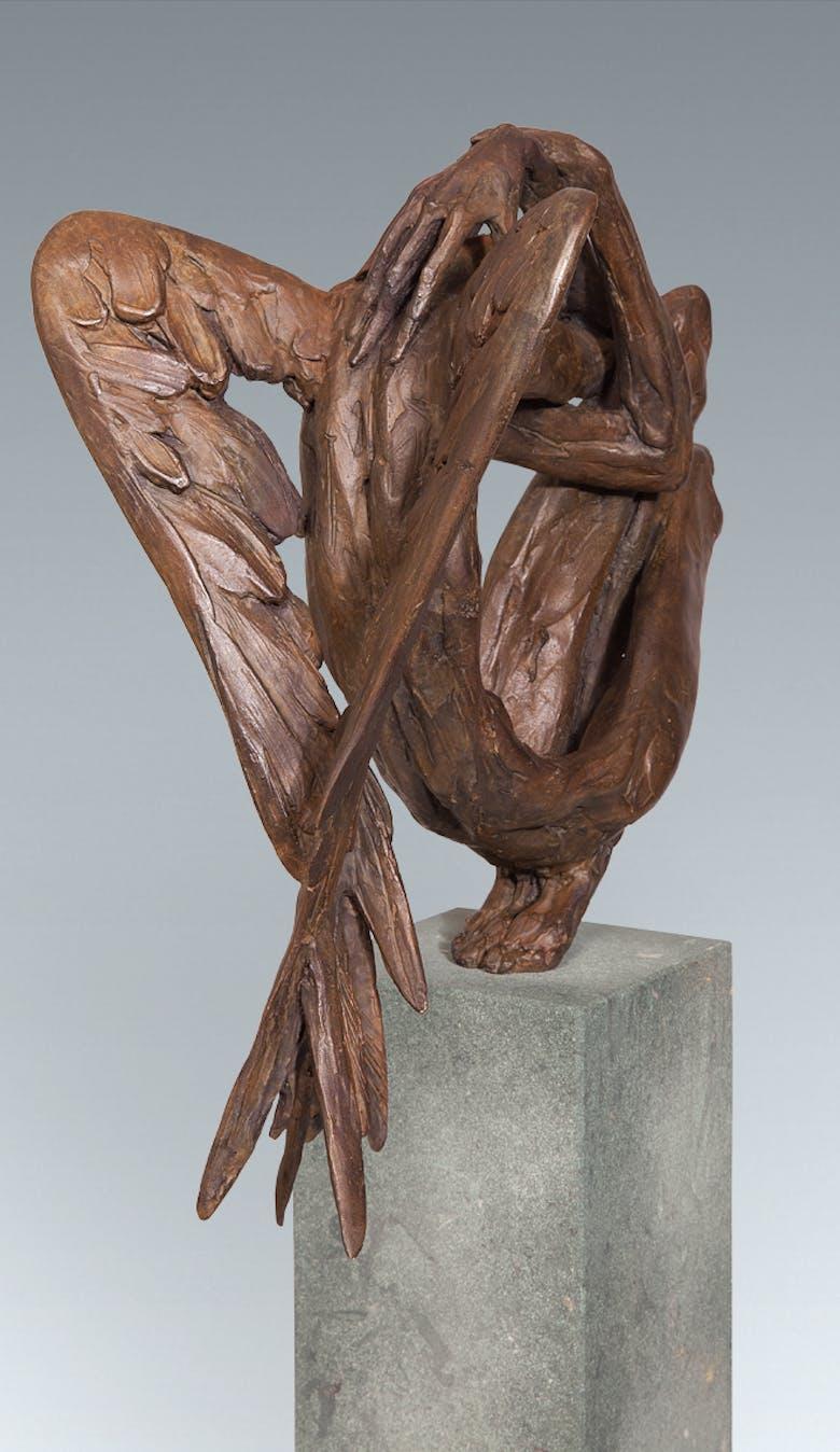 Bronzefigur Engel von Vitali Safronov