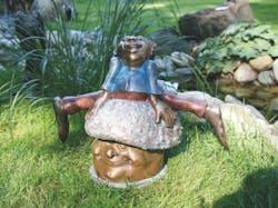 Bronzefigur Archibald, der Sportliche von Catherine Boulogne