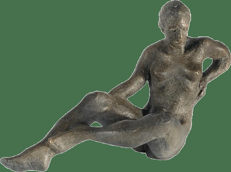 Bronzefigur Vivian die Lebendige von Gudrun Cornford