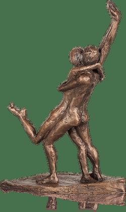Bronzefigur Tango von Thomas Grabert