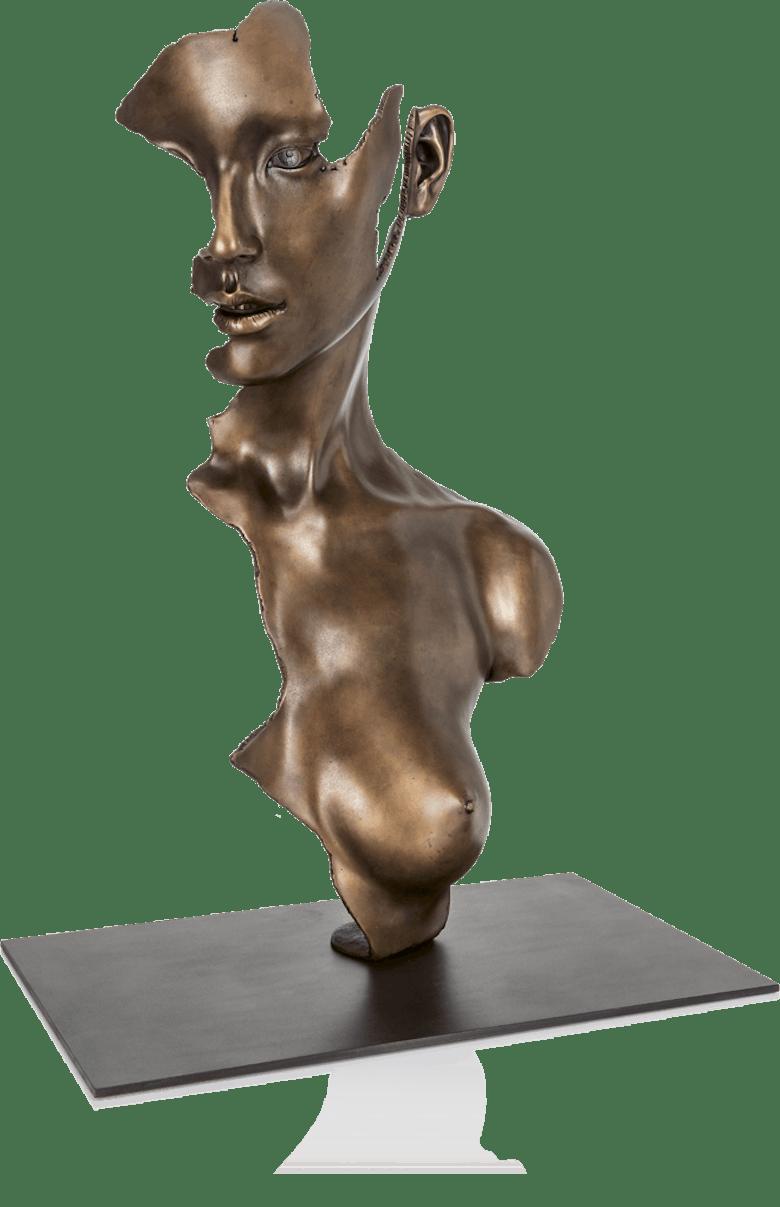 Bronzefigur Fragmented Girl von Jamie Salmon