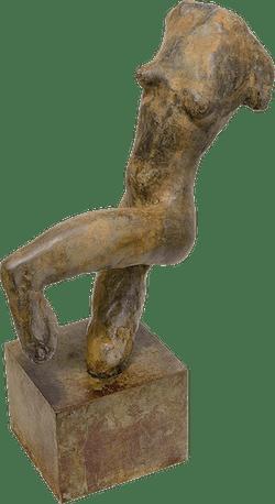 Bronzefigur Tänzerin von Ralf Ehmann