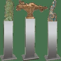 Bronzefigur 3 tlg. Set Ernst Fuchs von Ernst Fuchs