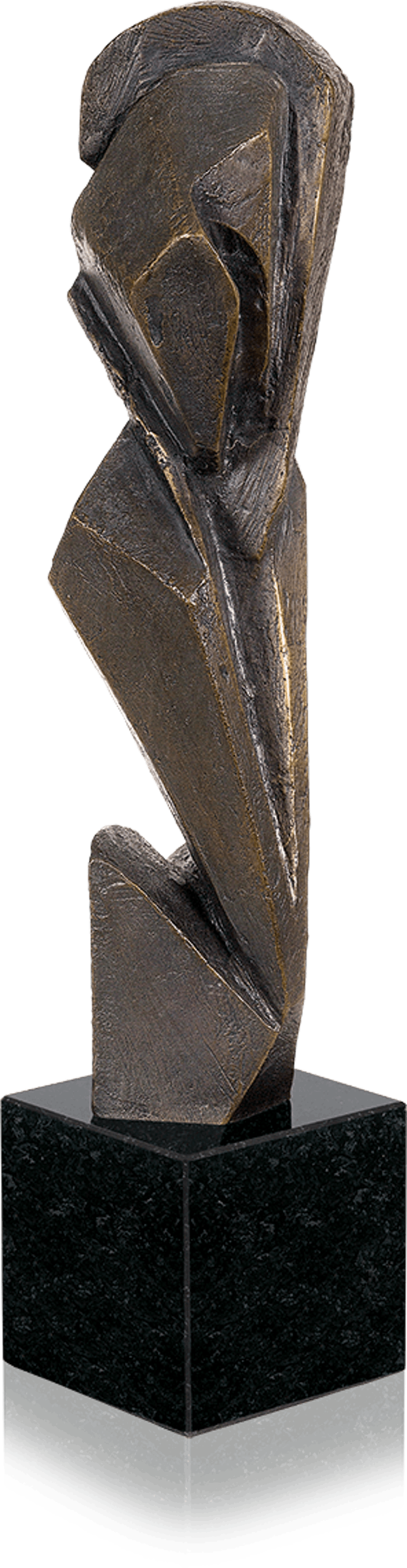 Bronzefigur Vegetamorph von Kay Winkler
