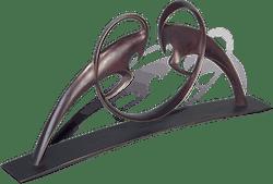 Bronzefigur Widder von Torsten Mücke