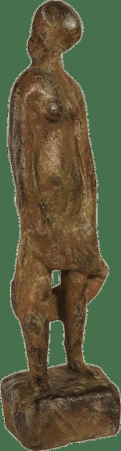 Bronzefigur Stehende von Hermann Schwahn