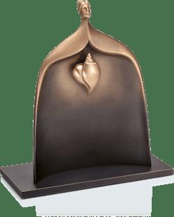 Bronzefigur »Hidden heart« von Andrea Bucci