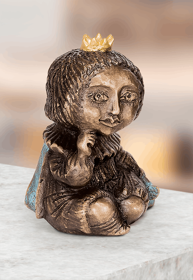 Bronzefigur Fuchs und Prinz von Elya Yalonetski
