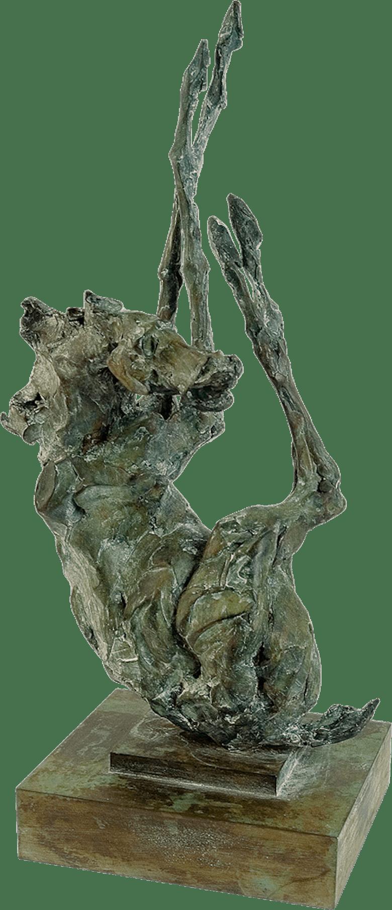 Bronzefigur Der Sturz des Siegers von Vitali Safronov