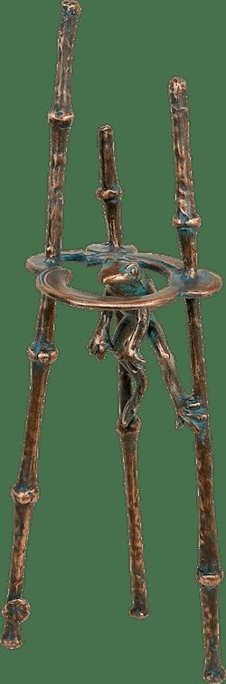Bronzefigur Froschperspektive von Kurtfritz Handel