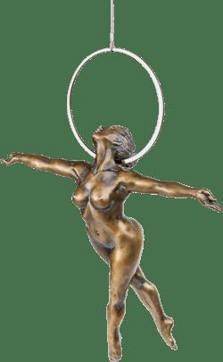 Bronzefigur »Ankaa« von Karin Lutz