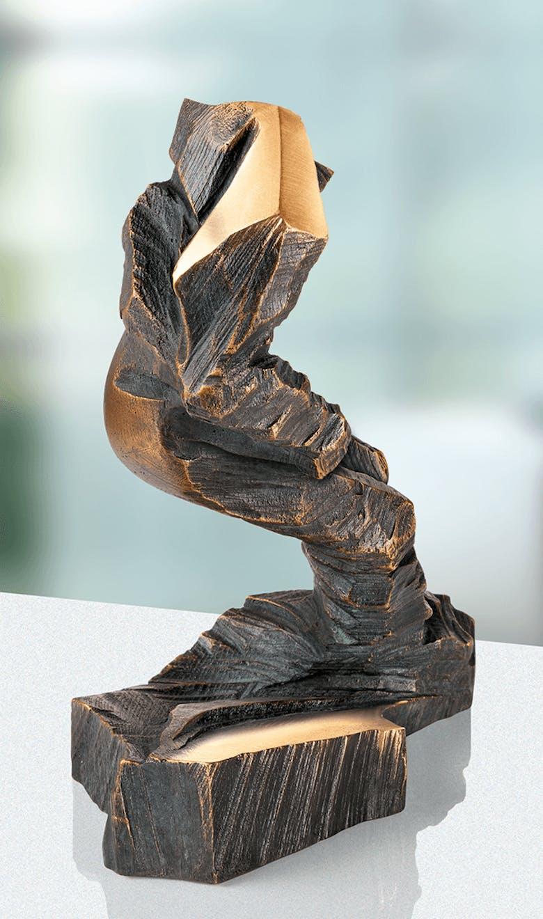 Bronzefigur »Super-G« von Michael Vogler