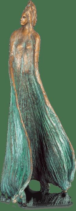Bronzefigur Ginkgo Biloba von Maria-Luise Bodirsky