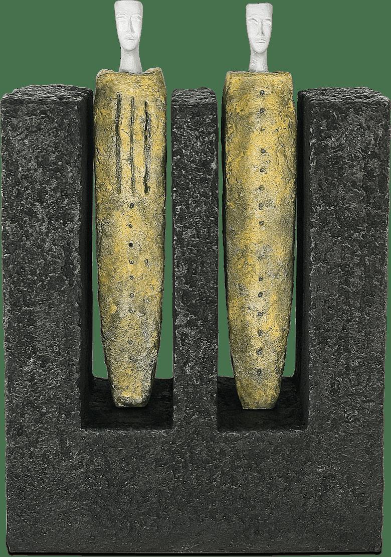 Bronzefigur Case II von Josette Taramarcaz