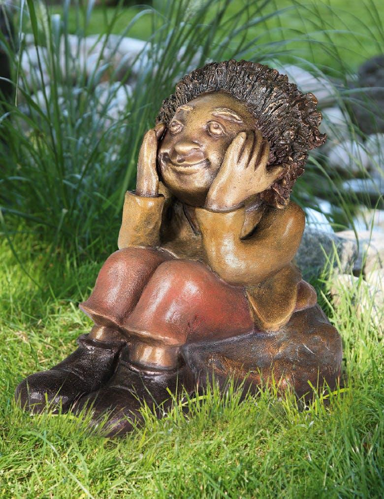 Bronzefigur Philipp, der Denker von Catherine Boulogne