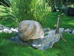 Bronzefigur Weinbergschnecke von Michael Brettschneider