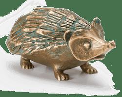 Bronzeskulptur Igel