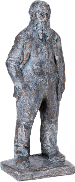 Bronzefigur Der Chef von Friedhelm Zilly