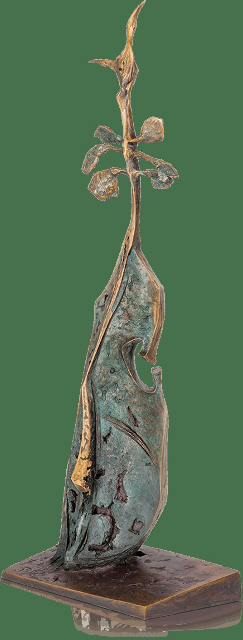 Bronzefigur Frühling von Woytek
