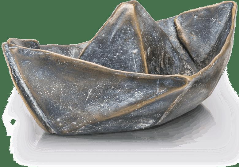 Bronzefigur Boat von Veronika Psotková