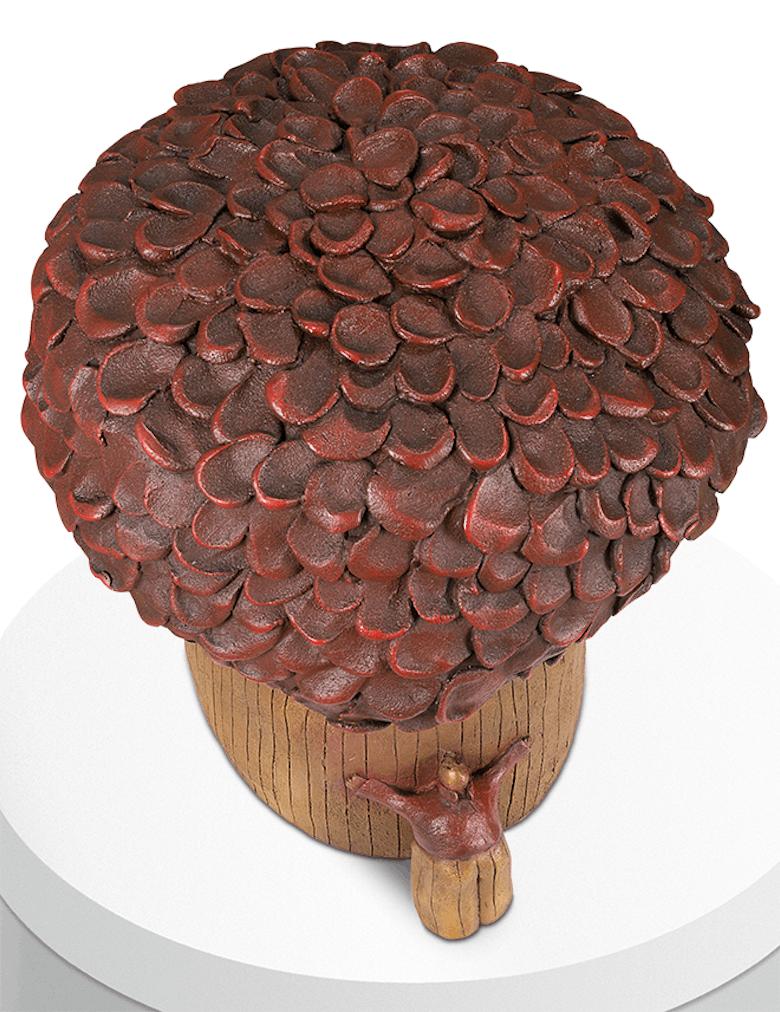 Bronzefigur Naturliebe von Anne-Sophie Gilloen