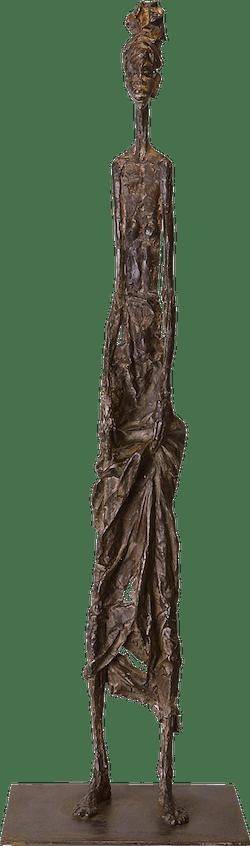 Bronzefigur Afrikanerin von Vitali Safronov