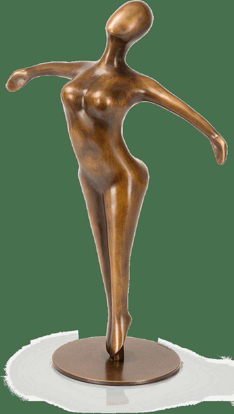 Bronzefigur Traum vom Fliegen von Sonja Marschner