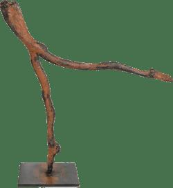 Bronzefigur Nichts ist nichts von Birgitt Mattes