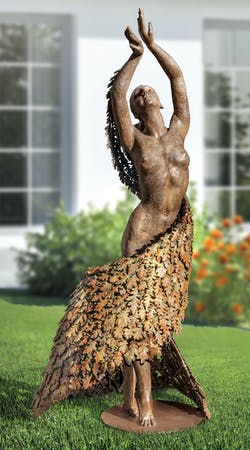 Bronzefigur Mother Earth Dancing von Beth Newman-Maguire