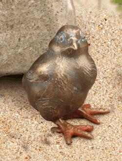Bronzefigur Helmuth bei der Rast von Atelier Strassacker