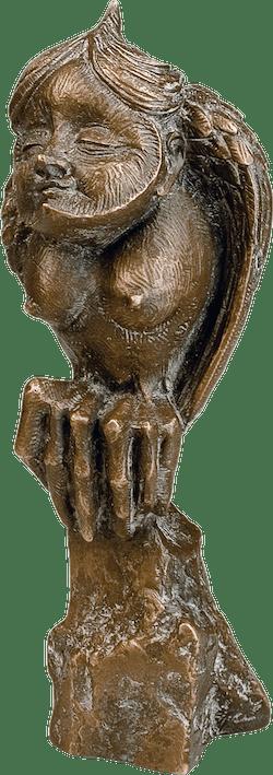 Bronzefigur Eule von Fidelma Massey