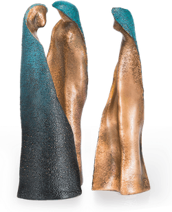Bronzefigur Hecate von Maria-Luise Bodirsky