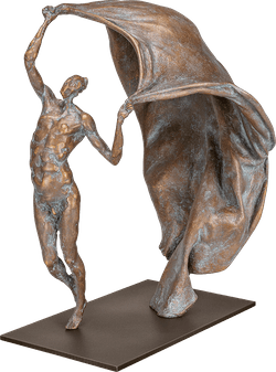 Bronzefigur »Seelenfreiheit« von Pawel Andryszewski