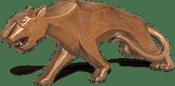 Bronzefigur Panther von Heinz Rupp