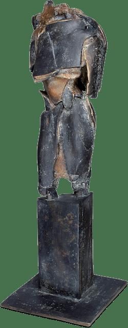 Bronzefigur Red Torso von Maria Teresa Kuczynska